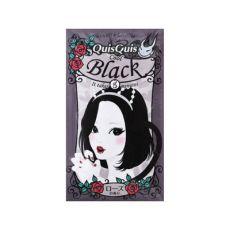 日本石泽研究所 quisquis 染发膏剂焗油可维持一周 黑色 25g