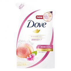 多芬沐浴蜜桃和甜豌豆补充装360克