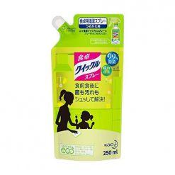 KAO花王餐桌等家用除菌清洁补充装250ml柠檬香