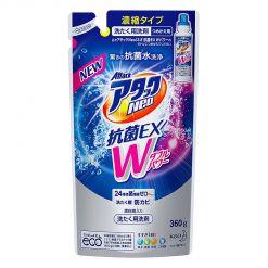 Kao/花王 Attack洁霸抗菌EX双效洗衣液 替换装 360g