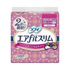 苏菲/sofy 尤妮佳日本进口卫生巾AIR超薄日用25cm*16片姨妈巾