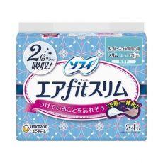 苏菲/sofy 尤妮佳卫生巾AIR超薄日用护翼21cm*24片姨妈巾