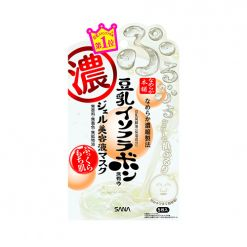 日本sana莎娜豆乳美肌精华液啫喱面膜滋养补水美白收缩毛孔女5片